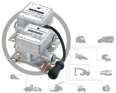 Датчики расхода топлива DFM